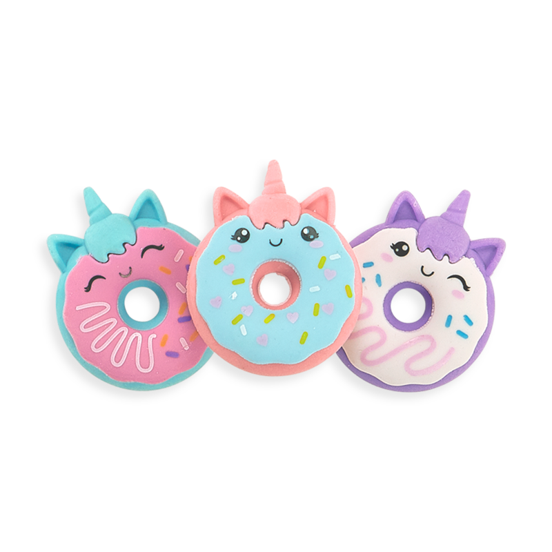 Scented Unicorn Donut Erasers