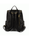 Kerri Side Pocket Backpack - Black