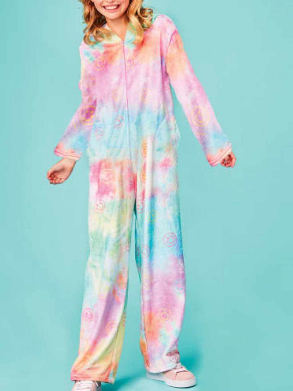 Cotton Candy Smiley Onesie