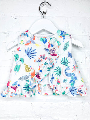 Island Birds Top & Bloomer Set