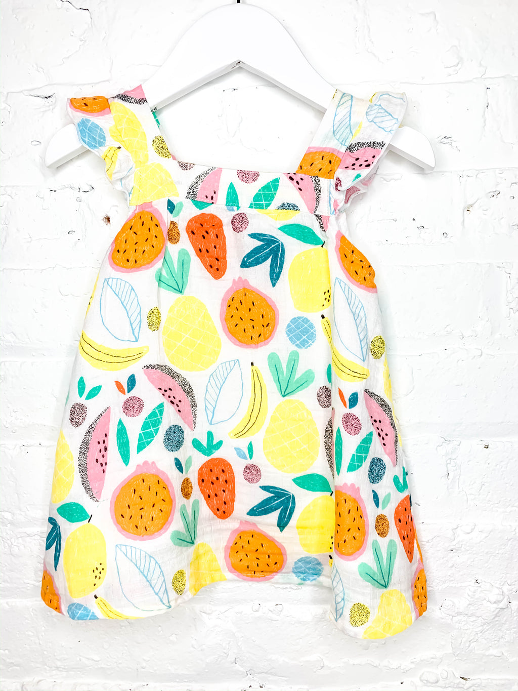 Taylor Tropical Fruit Sundress