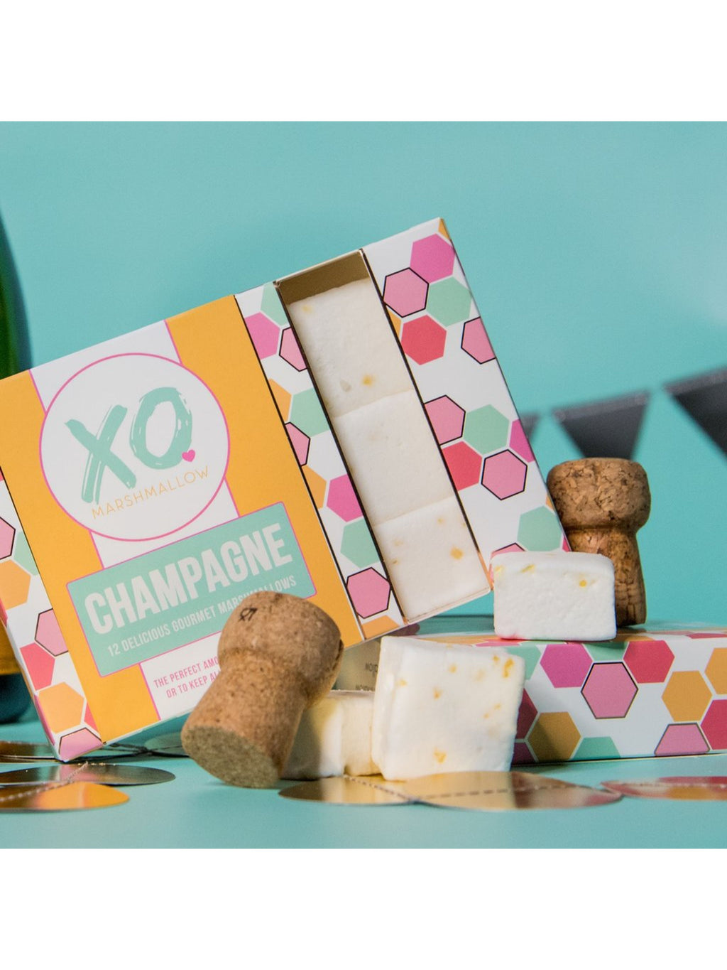 Champagne Gourmet Marshmallows (12)
