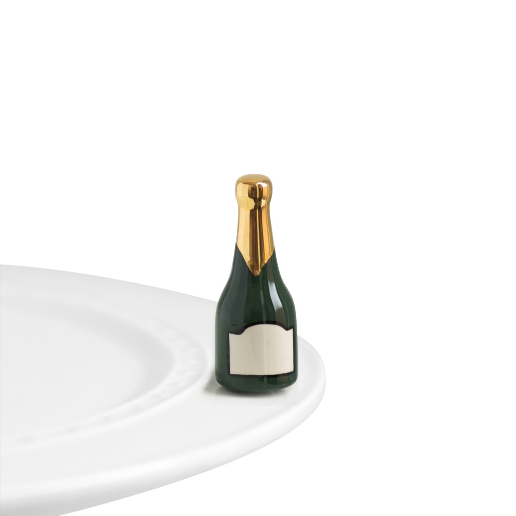 Nora Fleming Mini Champagne Bottle