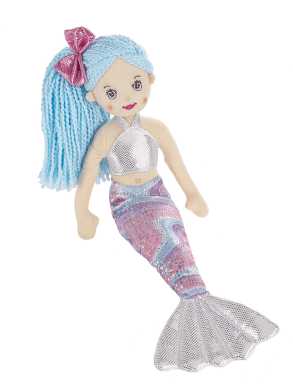 Shimmer Mermaid - Silver