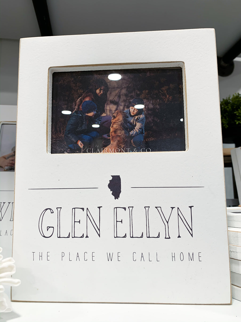 Glen Ellyn - Place We Call Home Frame