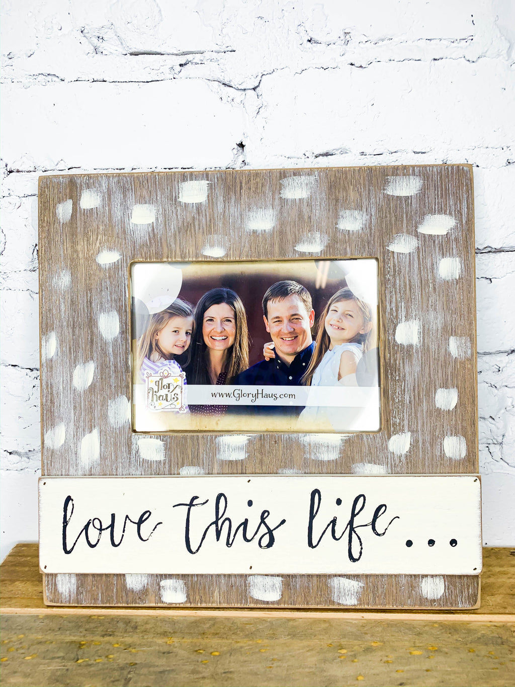 Love This Life Picture Frame