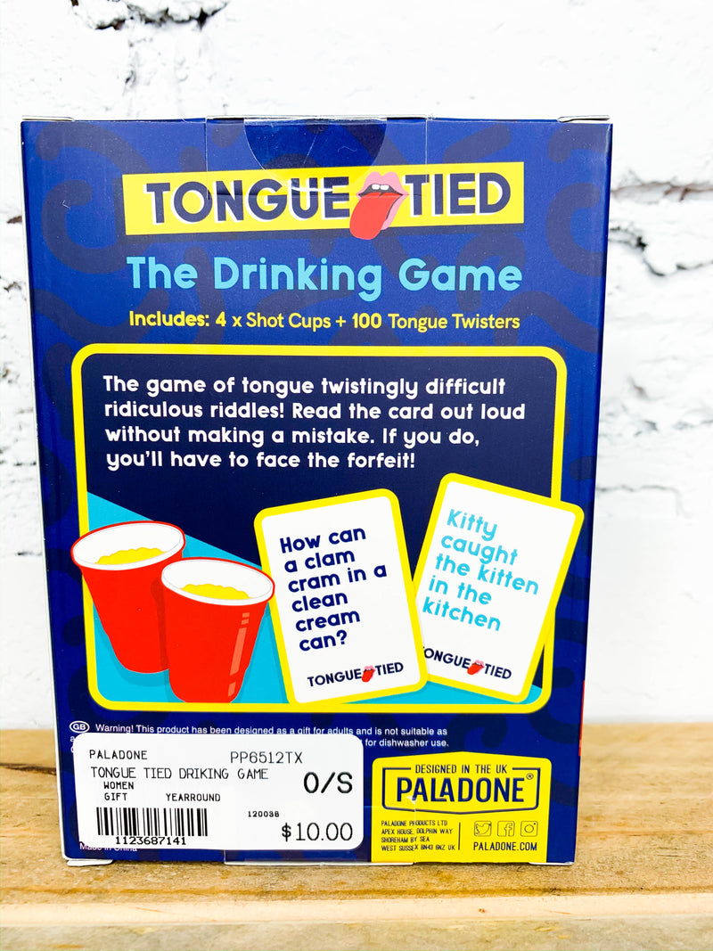 Tongue Tied - The Drinking Game