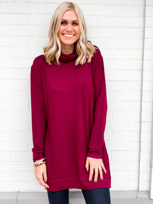 Bordeaux Turtleneck