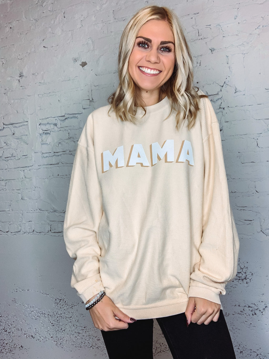 Mama Corded Pullover