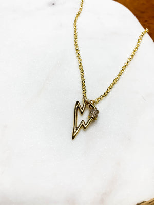 Lola Bolt Necklace