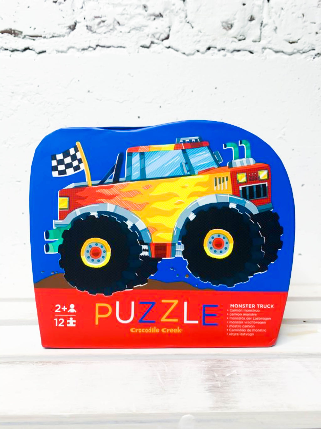 Monster Truck Puzzle - 12 Pieces