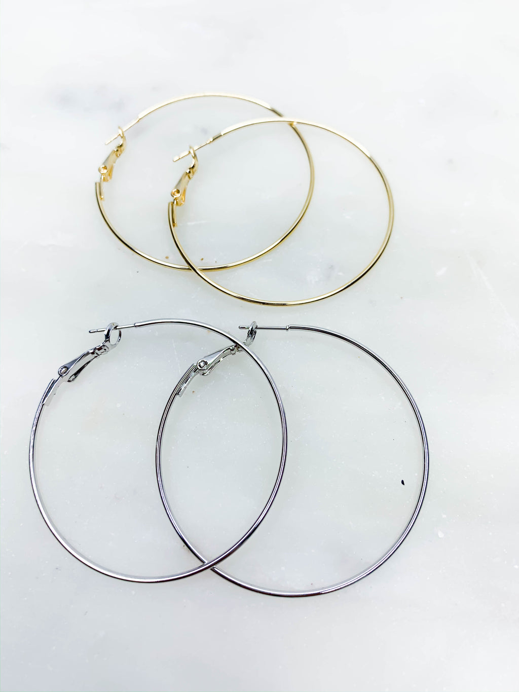 Classic Medium Hoops