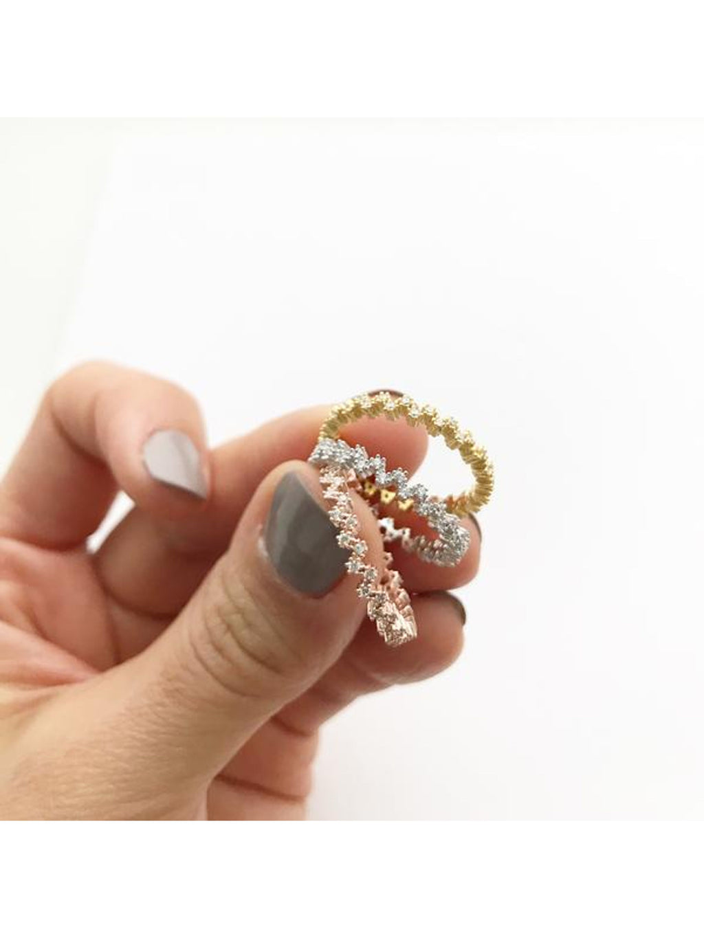 Ziggy Band Stacking Ring