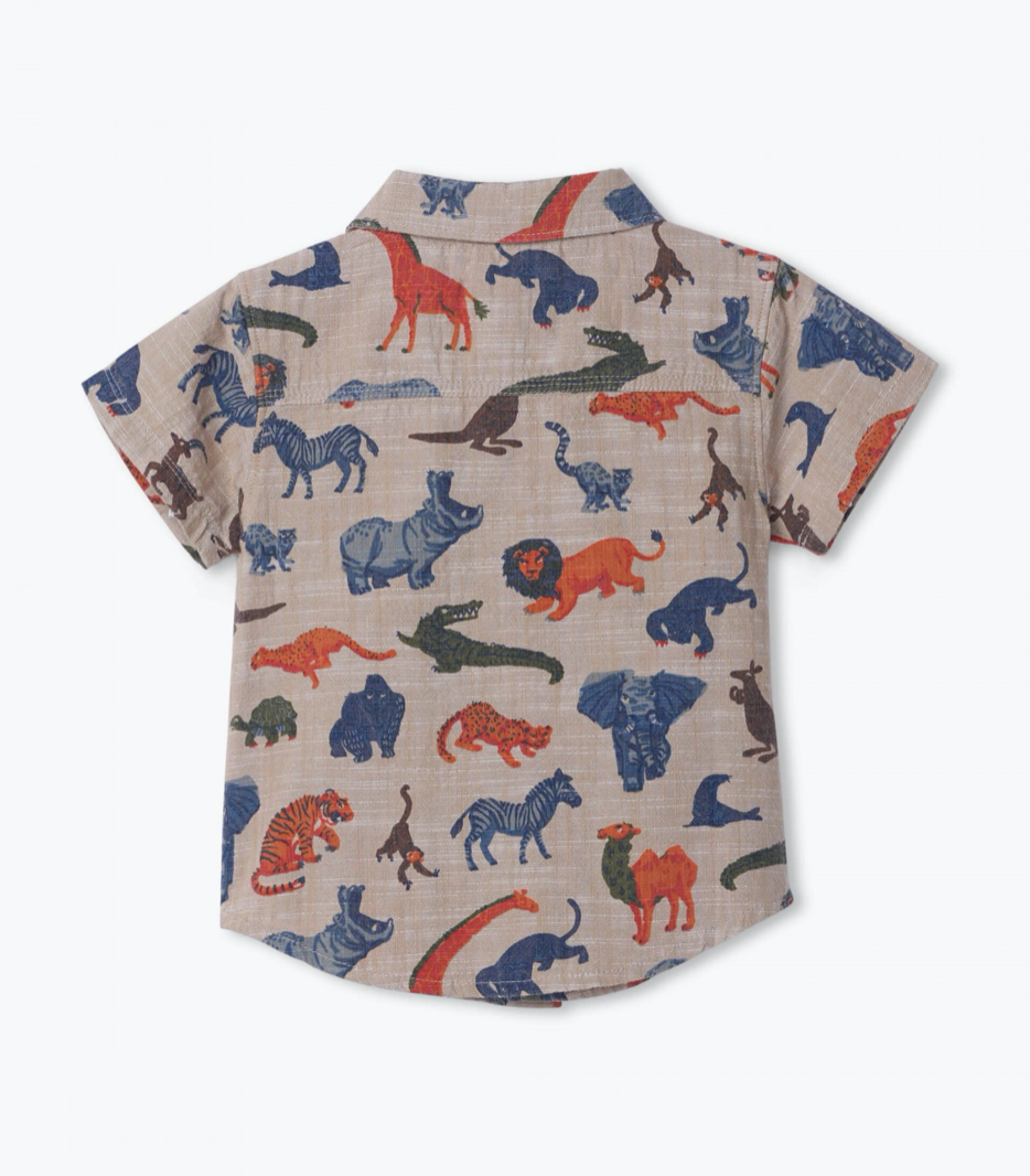 Jungle Safari Button Down