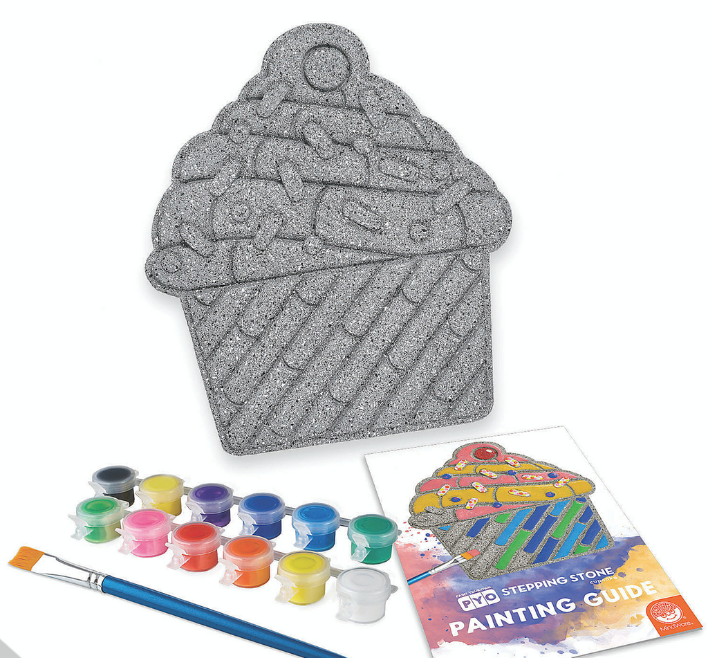 Paint Your Own Cupcake Stepping Stone