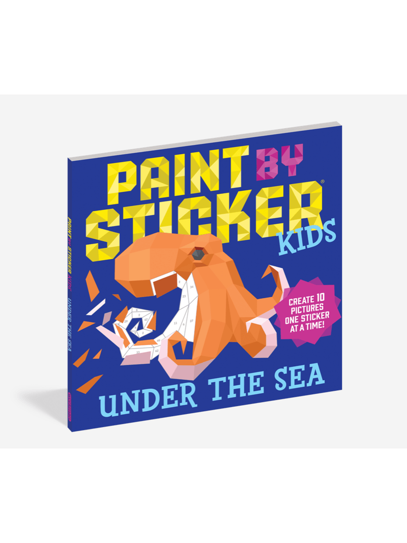 Paint By Sticker - KIDS - Under The Sea