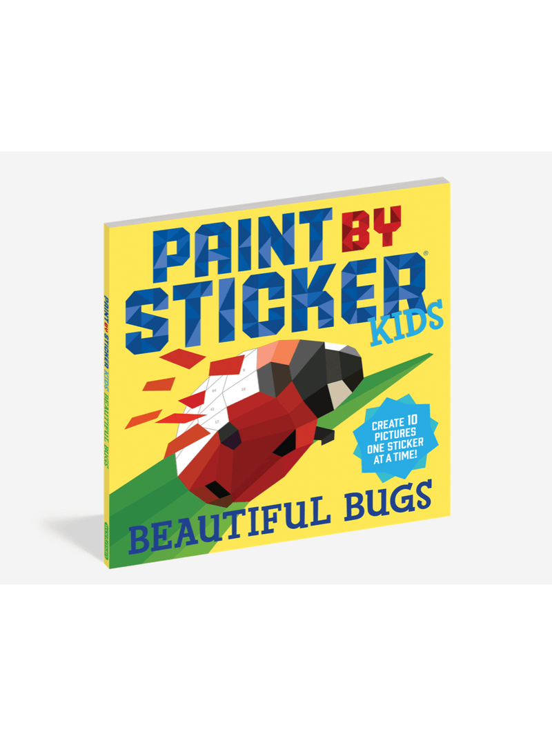 Paint By Stickers - KIDS - Bugs