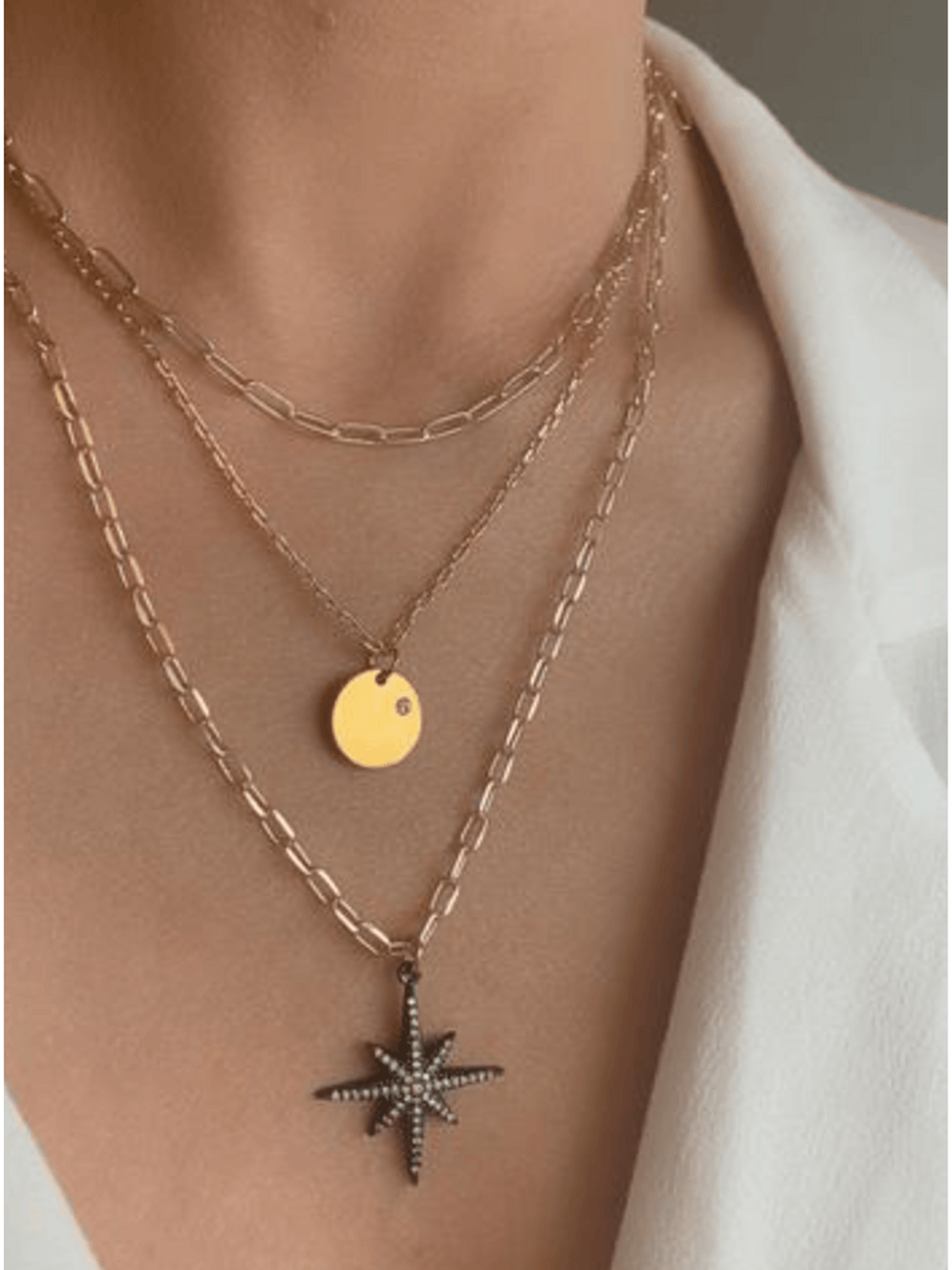 3 Layer Fate Necklace
