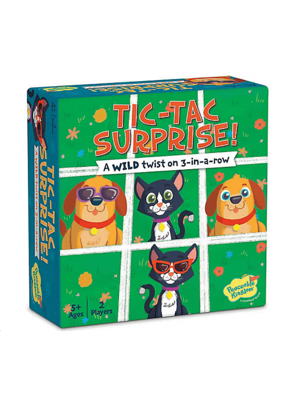 Tic Tac Surprise - Dogs vs Cats