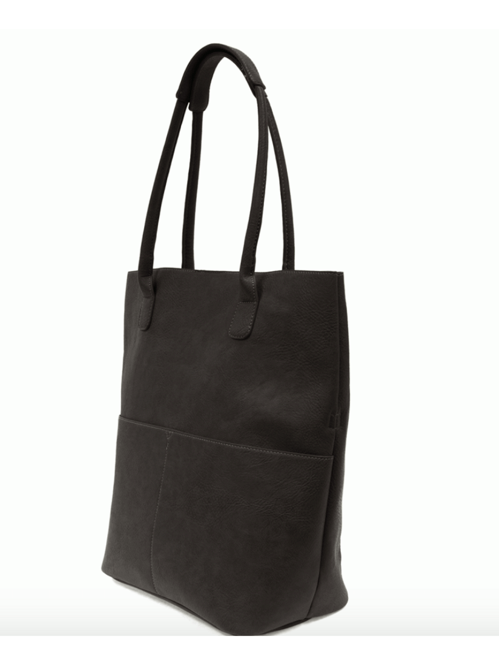 Kelly Black Front Pocket Tote