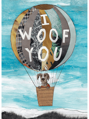 I Woof You Birthday - Card