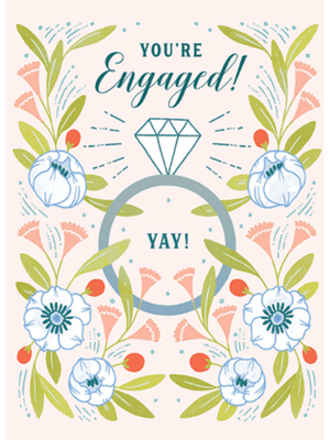 You're Engaged - Card