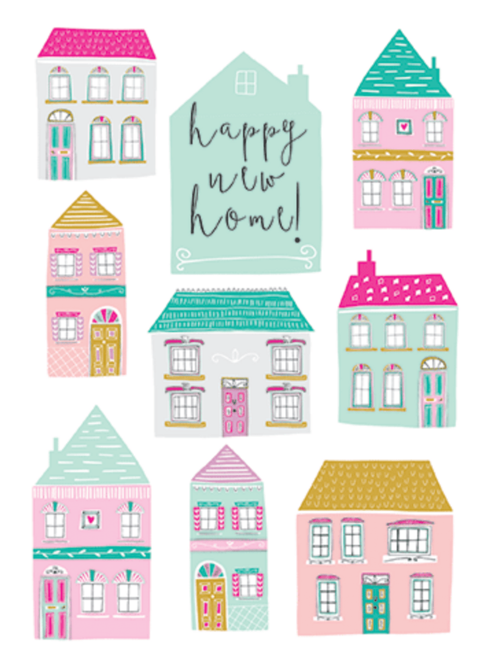 Happy New Home - Card