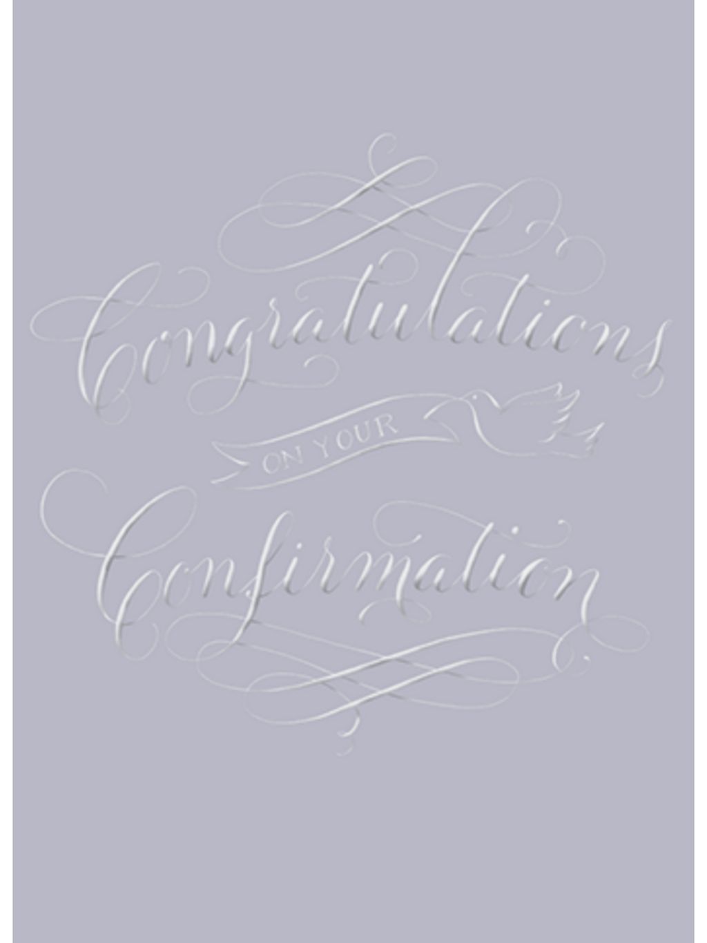Congratulations On Your Confirmation - Card