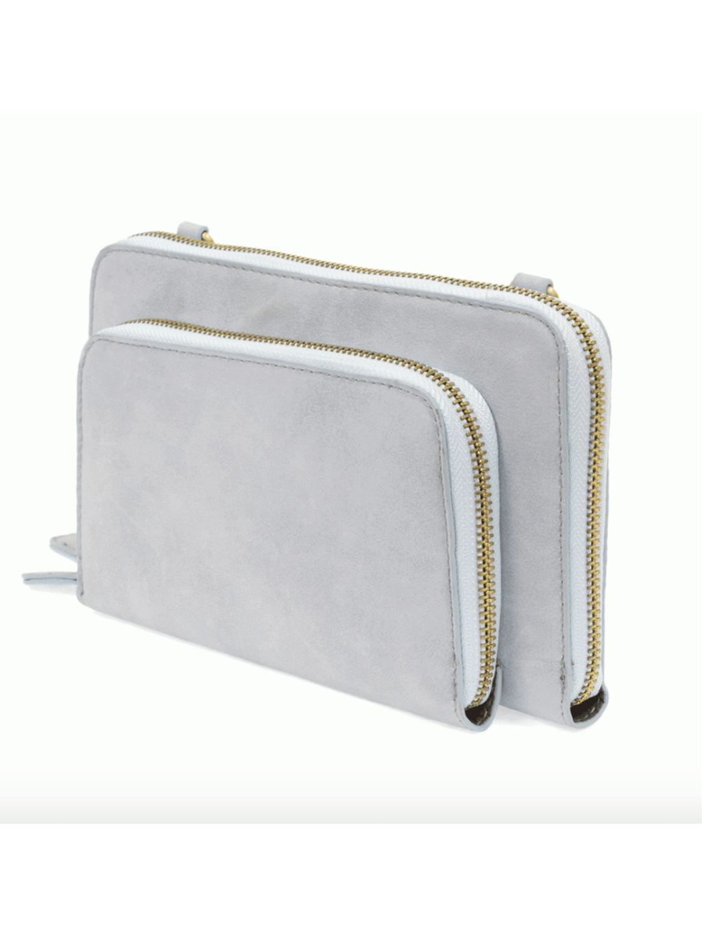 Mini Convertible Zip Wristlet - Ice Blue