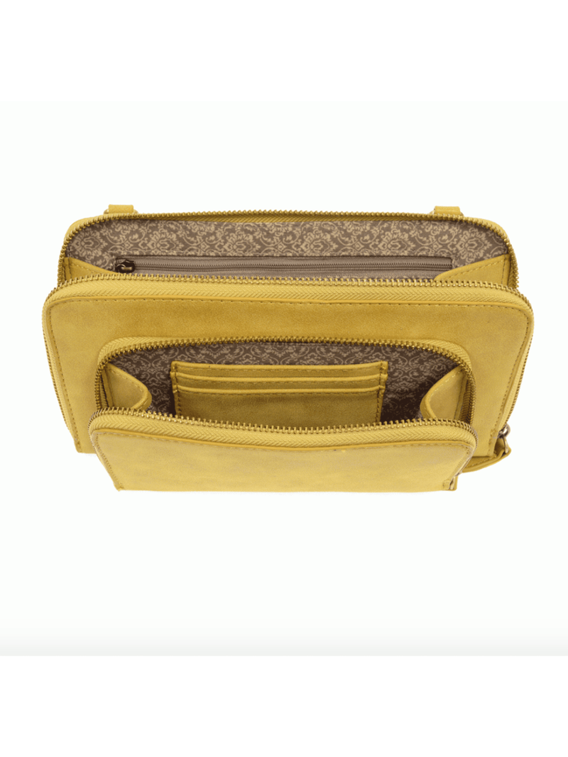 Mini Convertible Zip Wristlet - Chartreuse