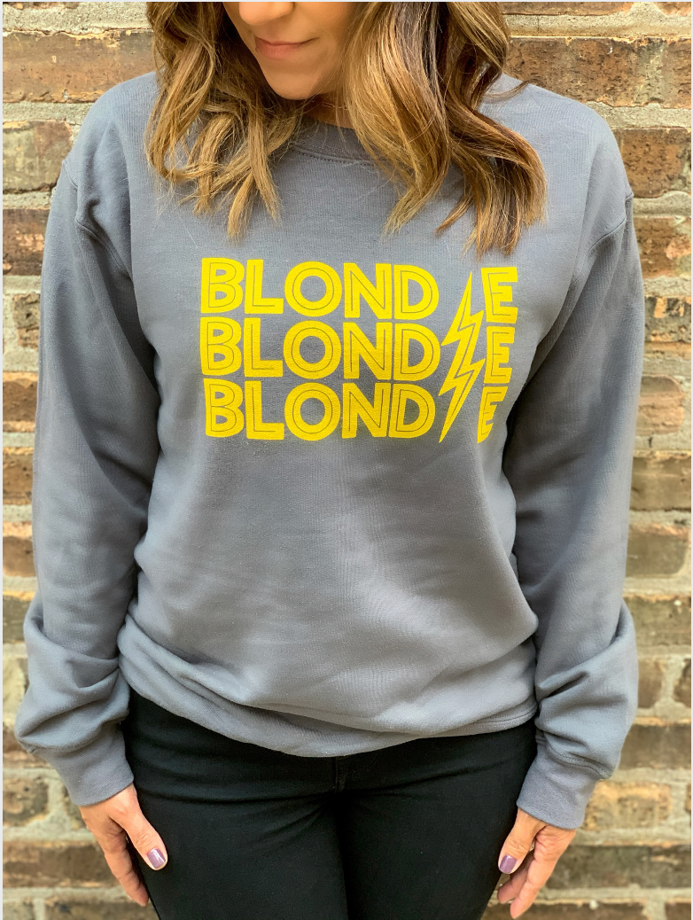 Blondie Lightning Sweatshirt