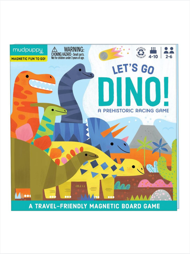 Let's Go Dino Racing Game