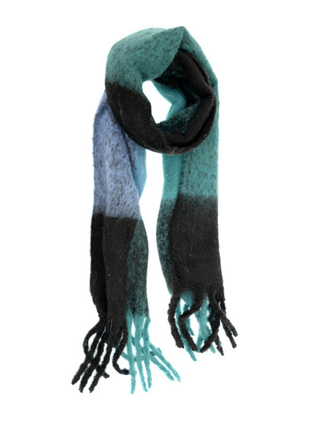 Turquoise Speckled Scarf
