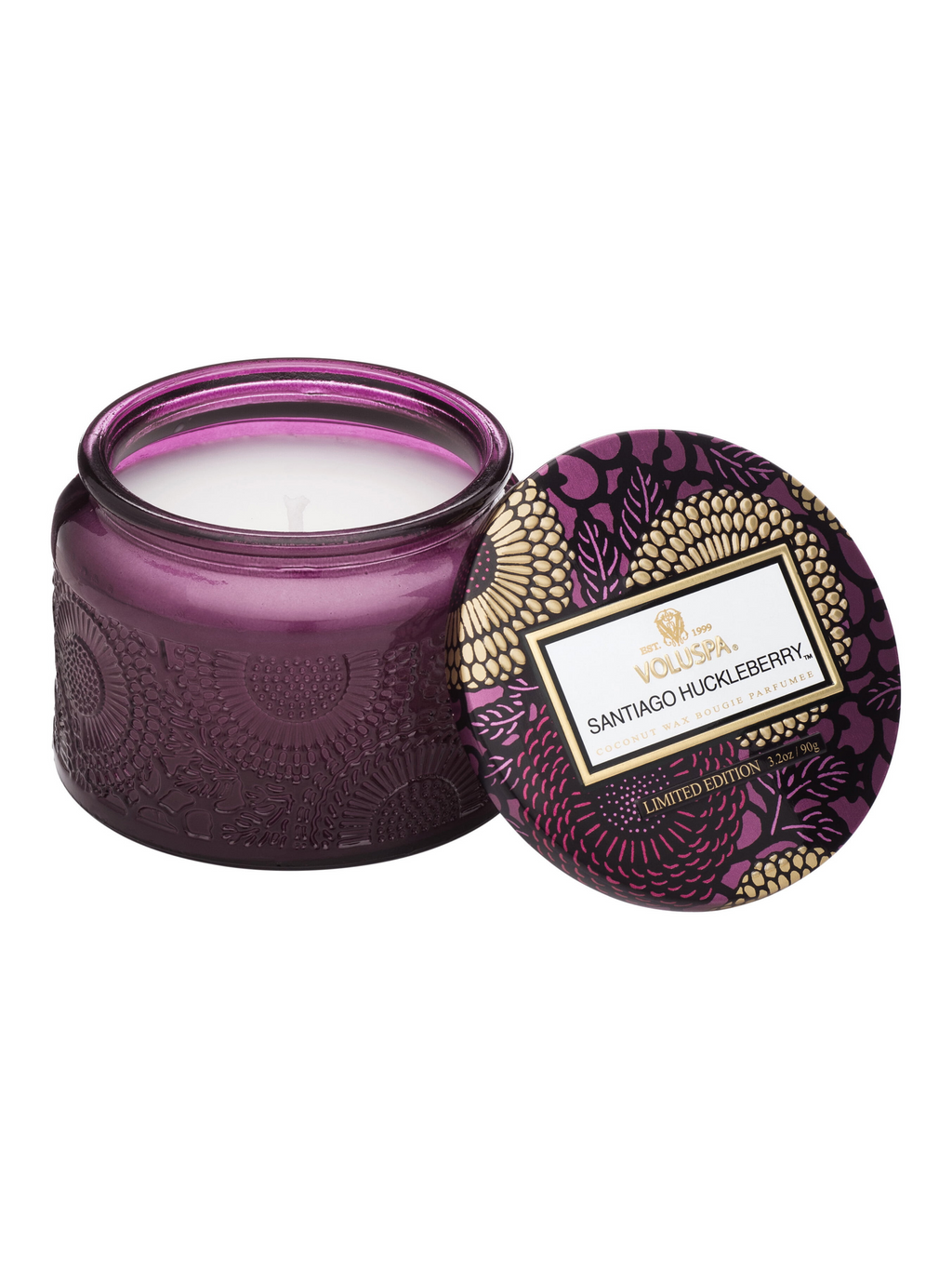 Santiago Huckleberry Candle - 3.2oz