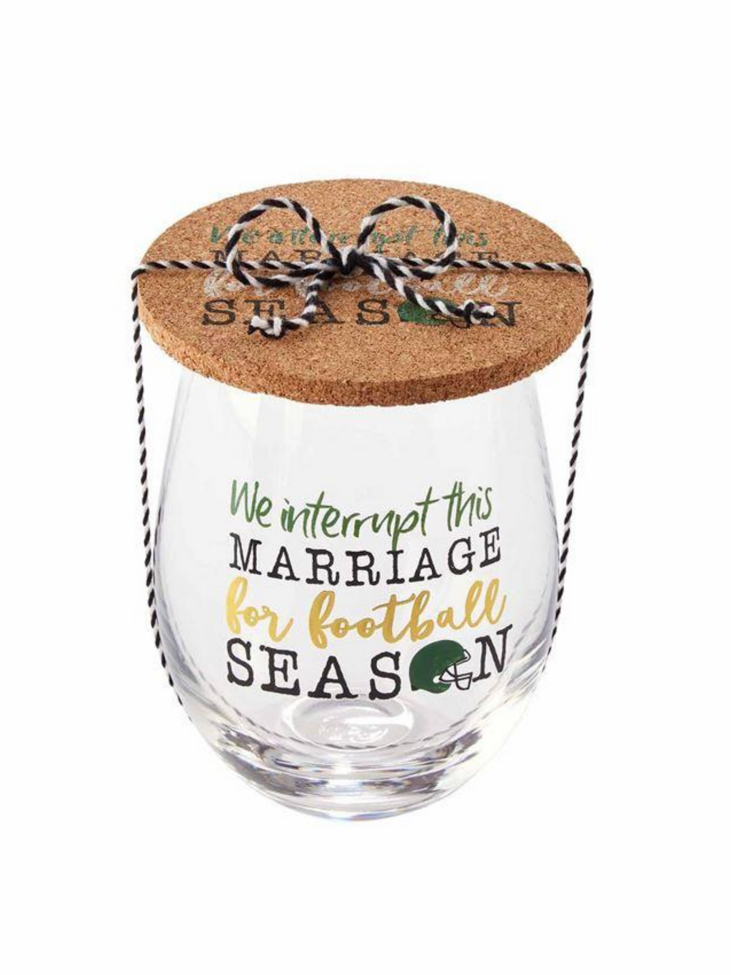 Interrupt Marriage Glass