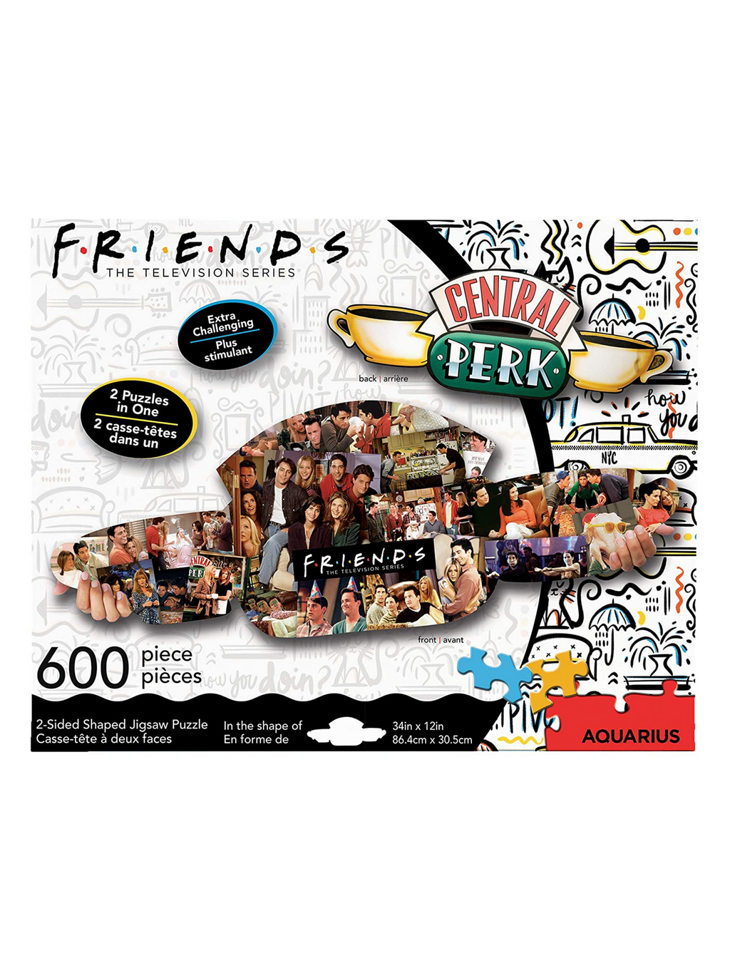 2 Sided Friends Puzzle