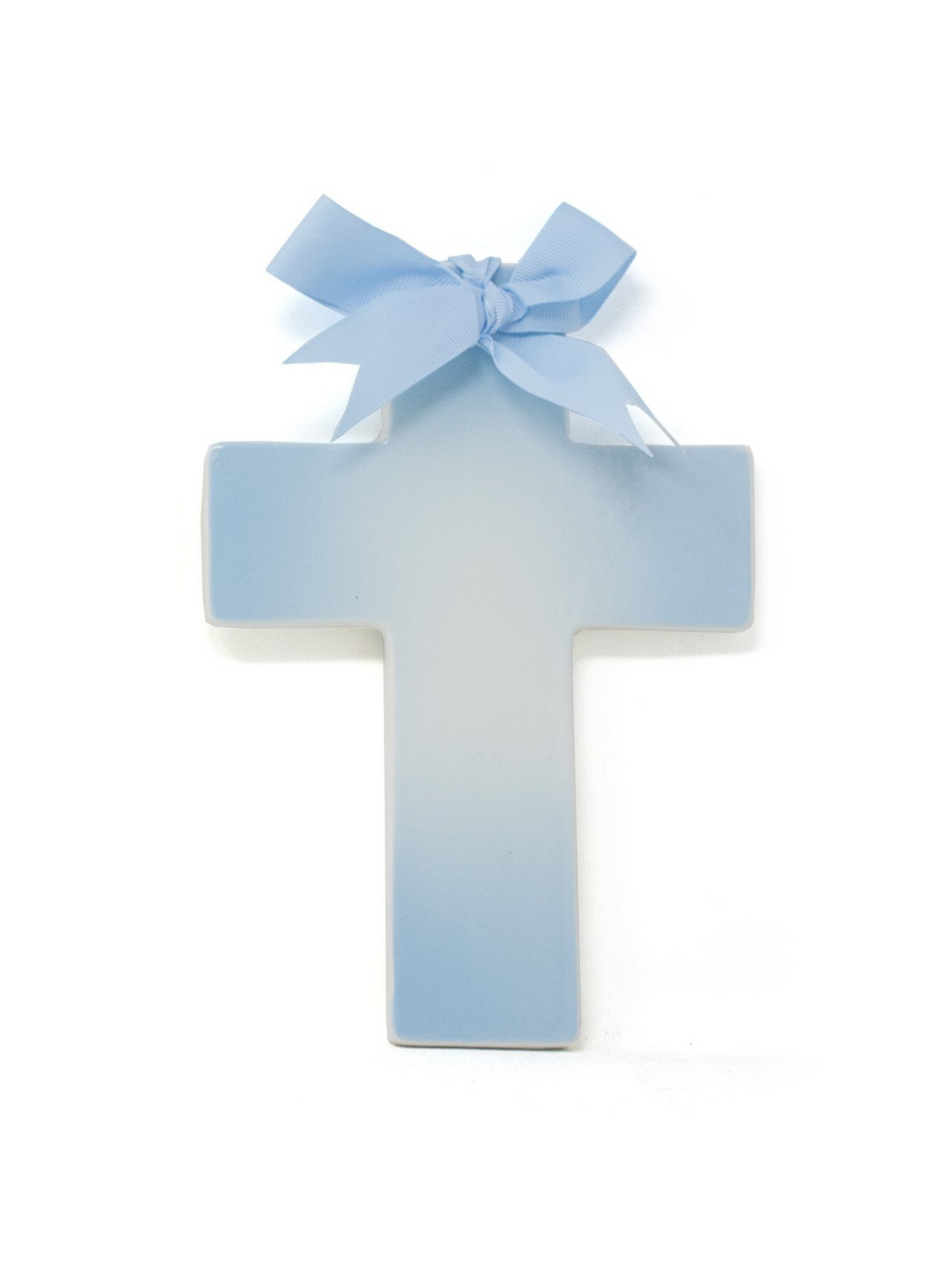 Blue Ombre Cross