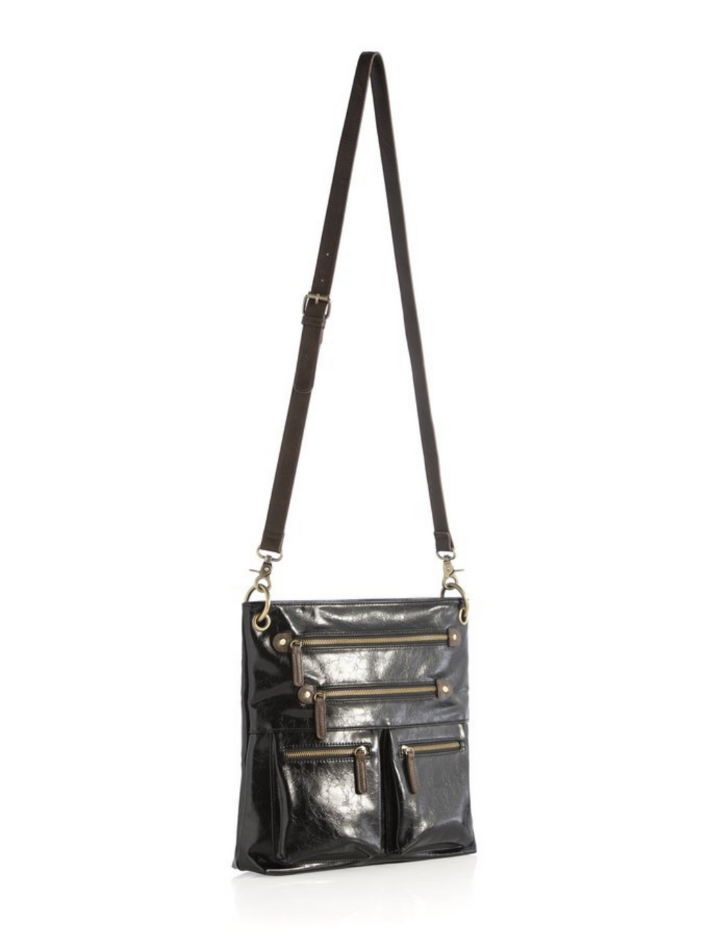 Black Harper Crossbody