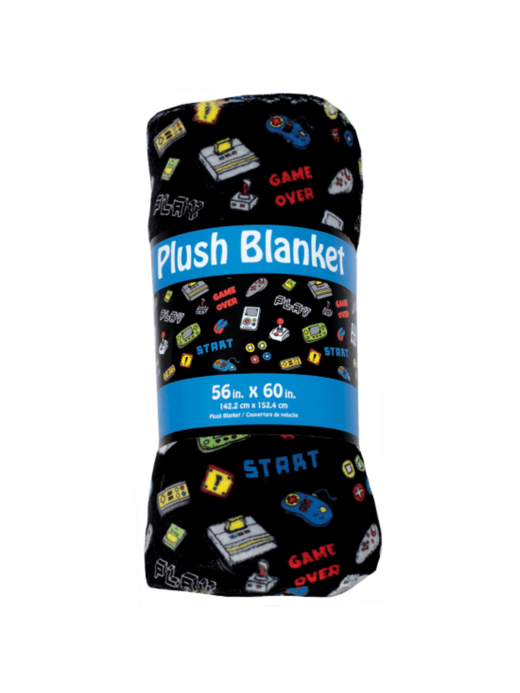 Level Up Plush Blanket