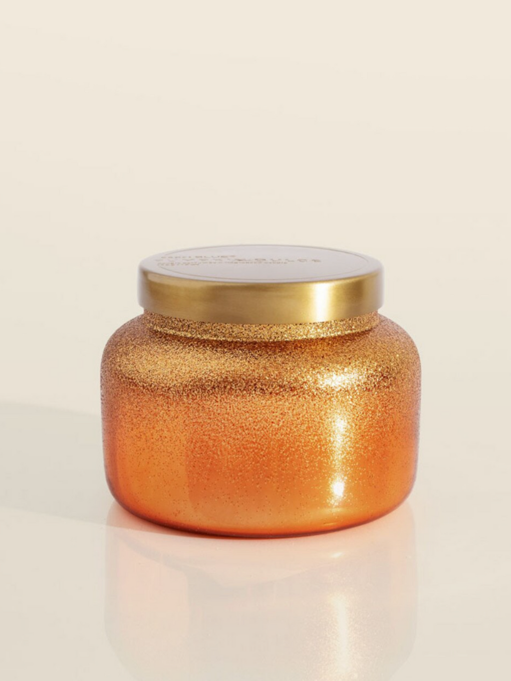 Copper Glitted Pumpkin Dolce - 19oz.