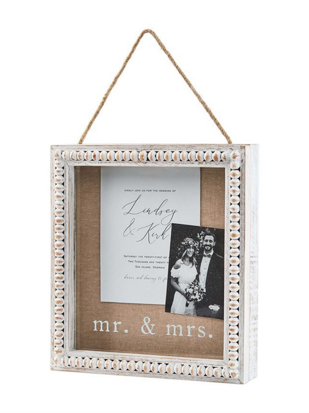 Mr. & Mrs. Shadow Box