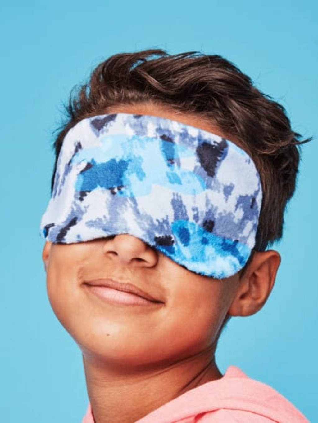 Blue Tie Dye Eye Mask