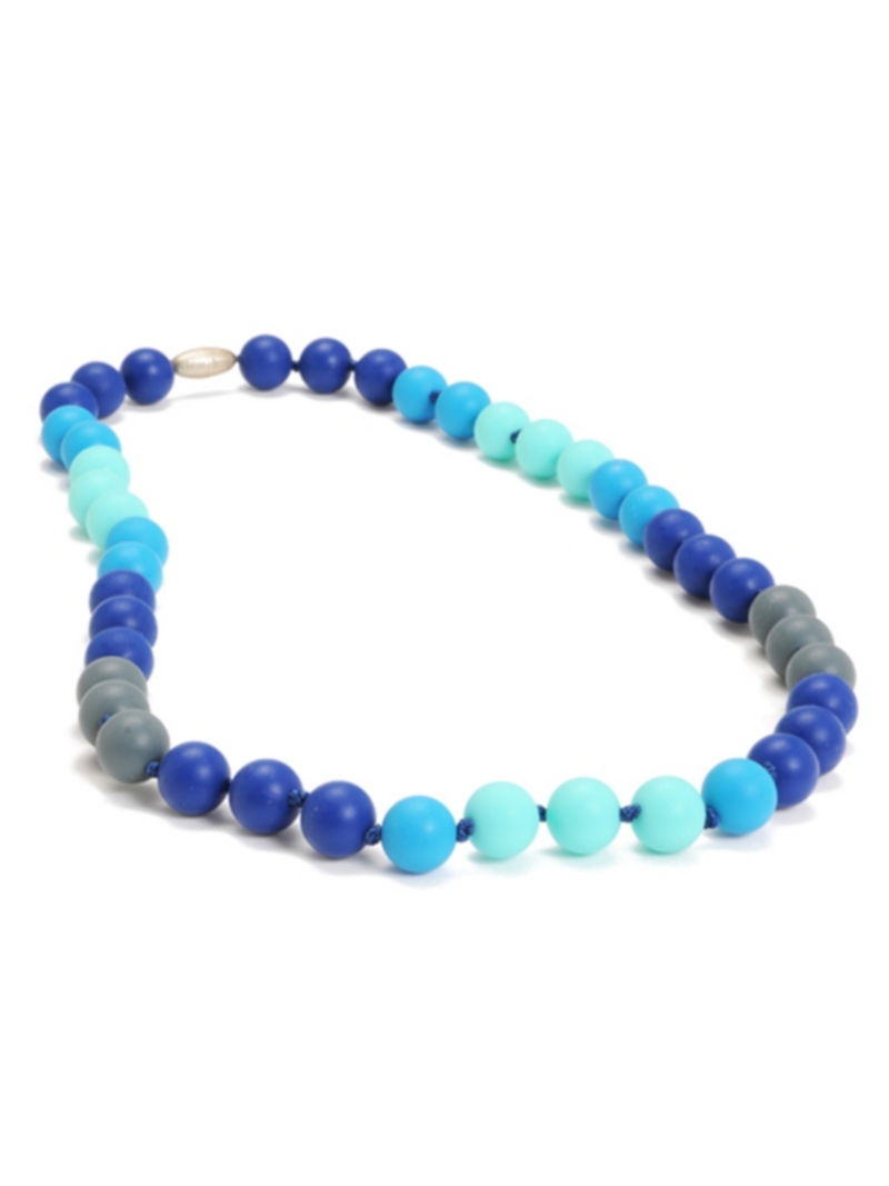 Teething Necklace - All the Blues