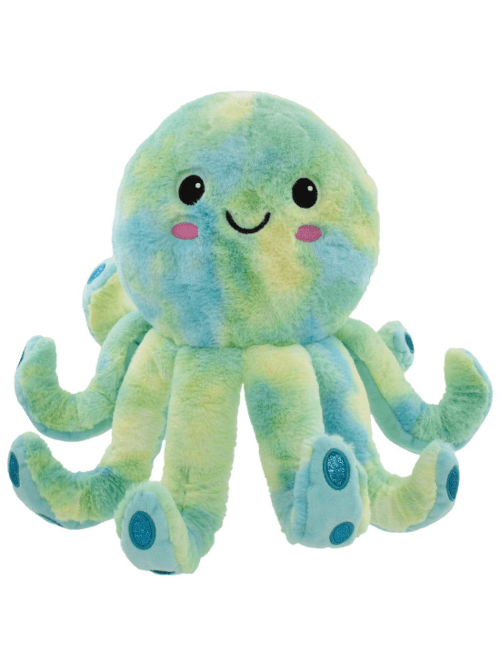 Octopus Furry Stuffed Animal Pillow