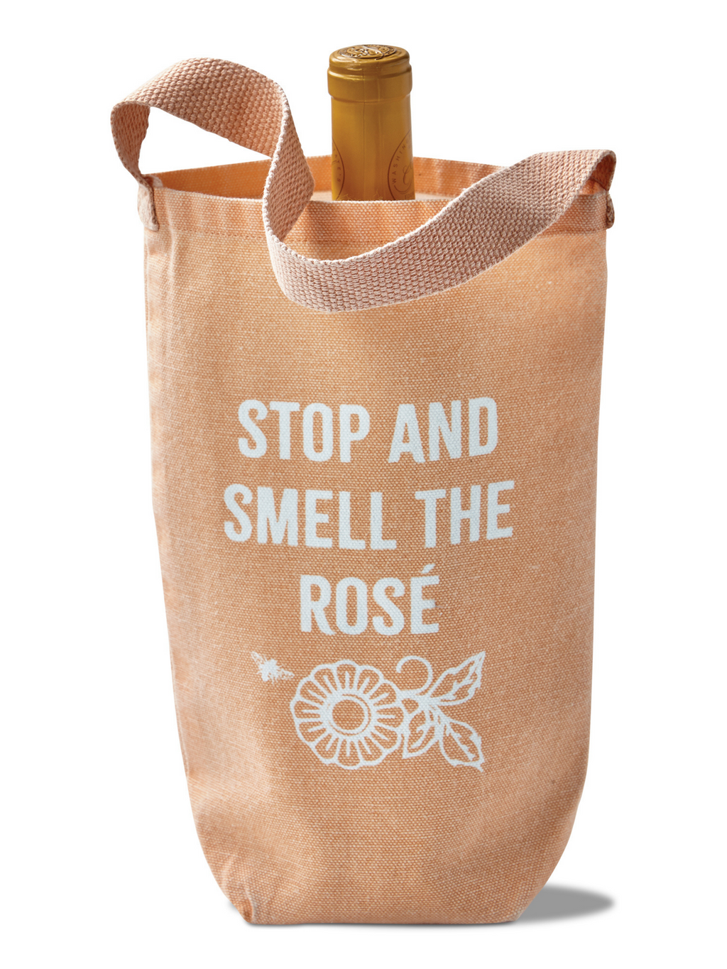Smell Rose Wine Bag
