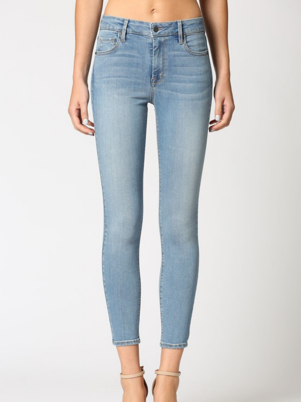 Light Wash Classic Stretch Denim