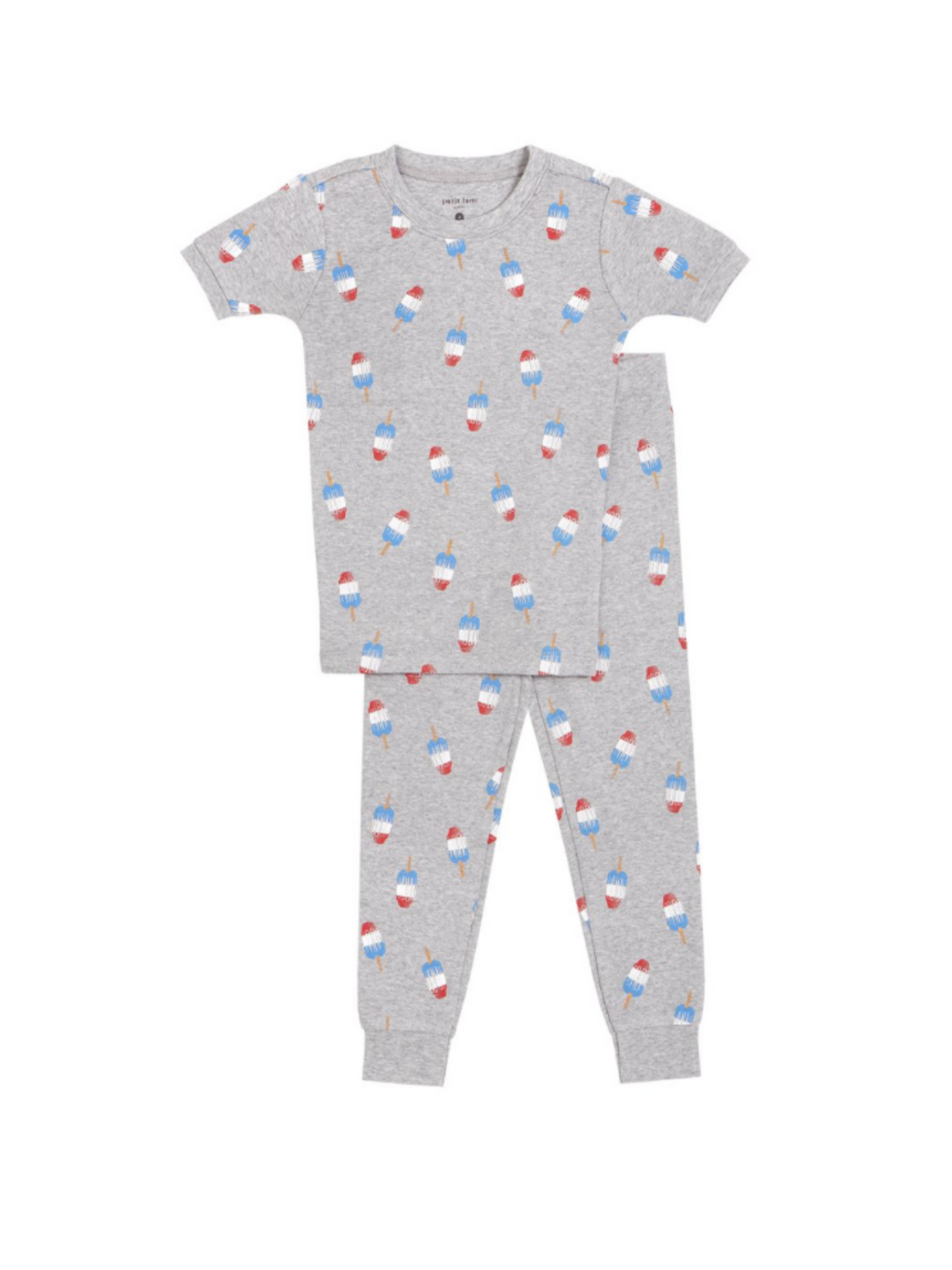Grey Popsicles PJ Set
