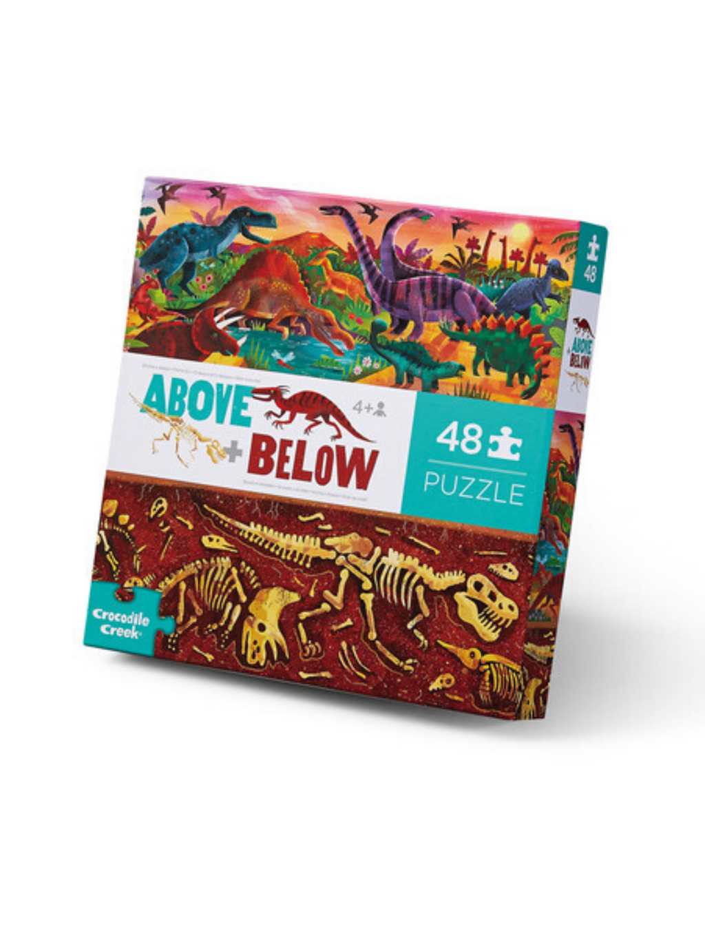 48 pc. Above/Below Dinosaur Puzzle