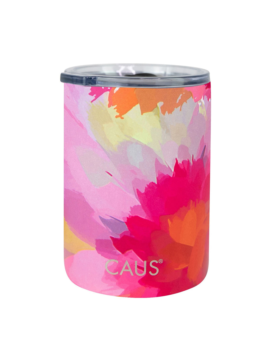 CAUS Can Cooler - Watercolor Flower