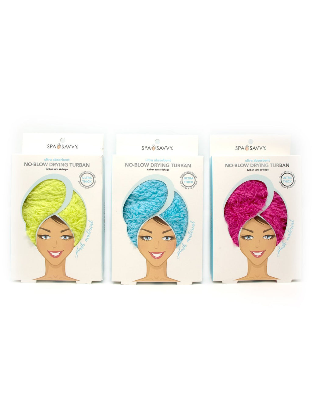 No-Blow Drying Turban